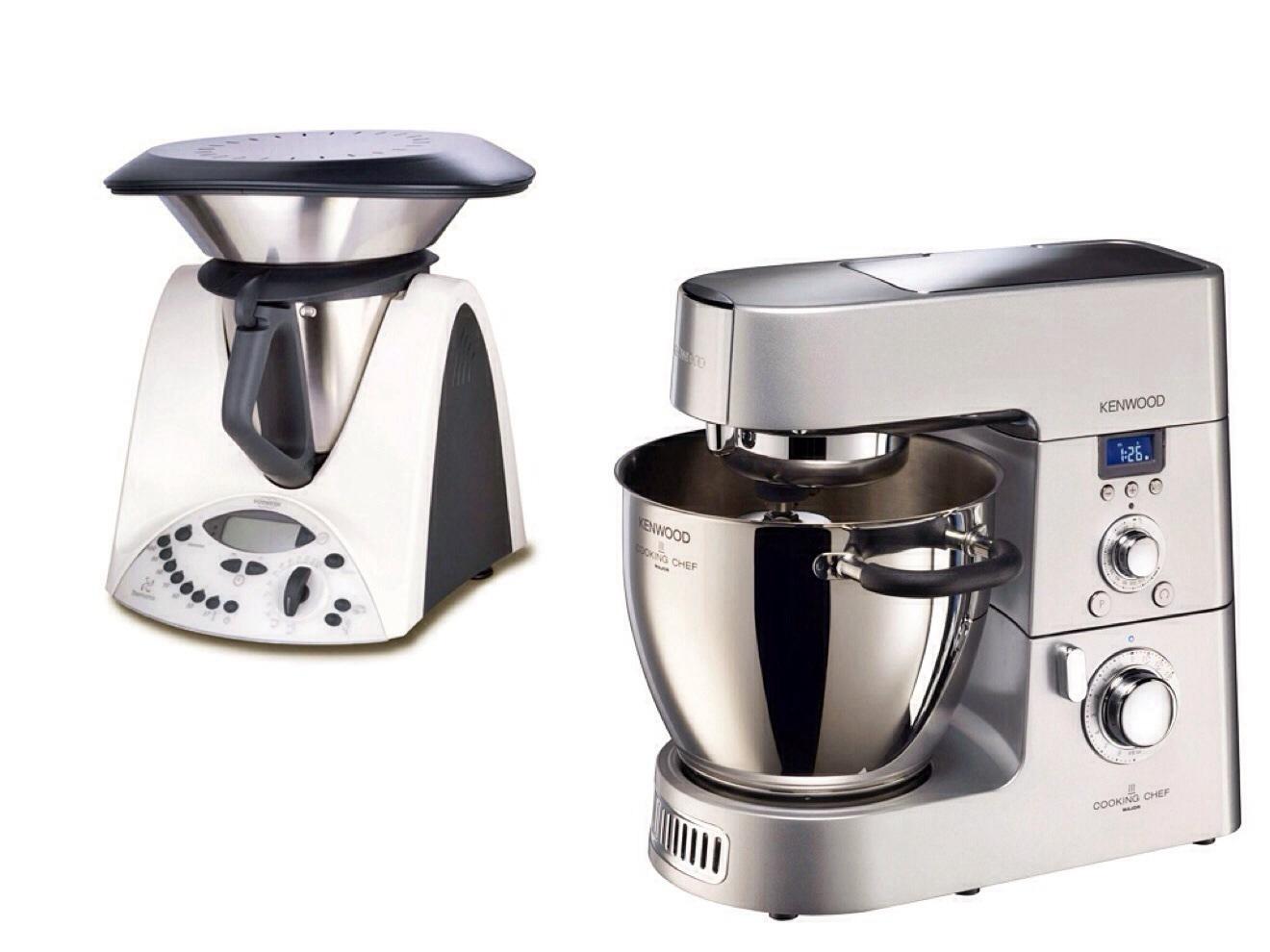 Differenze tra il bimby tm31 della vorwerk e il cooking chef della kenwood - Robot da cucina kenwood cooking chef ...